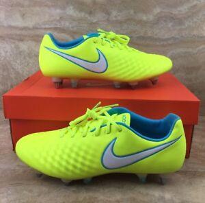 Nike Magista Opus II SG-PRO ACC Women's Soccer Cleats Volt Yellow