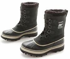 Sorel Men's Caribou Boots Winter Rain Men Boot Black Tusk Size 10 US NO BOX NEW