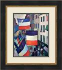 Raoul Duffy  - Street Decked Custom Gallery Framed Print From the 1950's