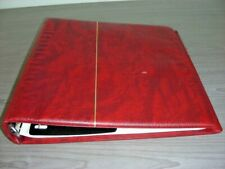 US, Excellent assortment of Stamps in a Scott Platinum Hingeless album(red)