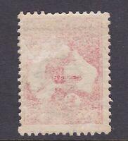 AU12) Australia 1913 1d Red Kangaroo, Die IIA, fresh used example