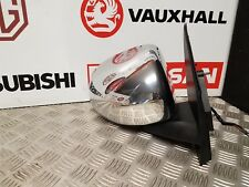 DODGE CALIBER SXT 2006-2012 O/S RIGHT WING MIRROR IN CHROME POWERFOLD