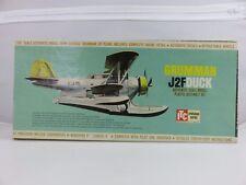 ITC Ideal Toy Co. GRUMMAN J2F DUCK Scale Plastic Model Kit UNBUILT 1962