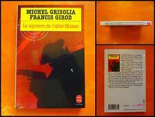 Le mystère de l'abbé Moisan. Michel Grisolia. Le Livre de Poche Policier N° 9781