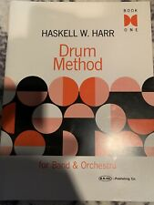 Haskell W. Harr Drum Method Book One For Band and Orchestra Drum NEW 006620102