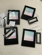 4 x New Look Hanging Photo Frames Blackboard Style With Chalk