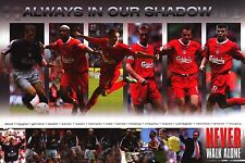 SOCCER POSTER~Liverpool Premier League Team Collage Never Walk Alone All Members