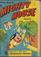 Paul Terry's Mighty Mouse Comics #44 St. John Comic GD+ 100 PAGES!