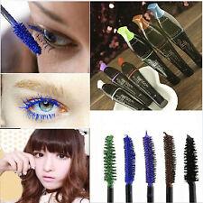 4 Color Long Curling Makeup Eyelash Waterproof Fiber Mascara Eye Lashes Cosmetic