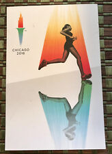 RARE - 2016 Chicago Olympics Olympic Bid Candidate City Post Card - No Writing