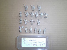 15mm Unknown make  Medieval Arab Infantry with Shield & Spear
