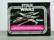 STAR WARS VINTAGE ANH MINI CATALOGUE 1978 X-WING FIGHTER COMPLETE