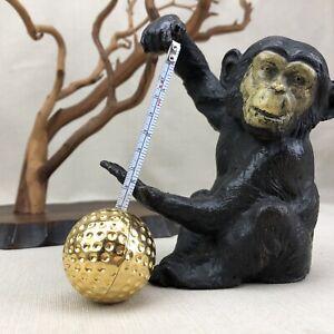 Gold Tone Golf Ball Retractable Tape Measure