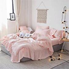 Boho Bedding Doona Duvet Cover Comforter Cotton ruffle blanket Quilt Cover Throw