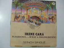 "Irene Cara – Flashdance... What A Feeling (Remix)-Disco Mix 12"" Vinile UK 1983"