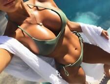 Sexy Brazilian Bikini Thong Swimsuit Beach Bathing Swimwear Women Underwear V100