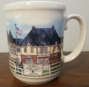 LONGABERGER Pottery Homestead Mug - Made In The USA - Excellent Condition