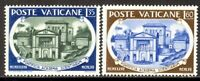 Vatican City #Mi274-Mi275 MNH CV€1.30 1957 Pontifical Academy [227-228]