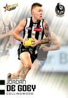 ✺New✺ 2020 COLLINGWOOD MAGPIES AFL Card JORDAN DE GOEY Footy Stars