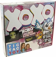 Tic Tac Toy XOXO Exclusive Glitter Friends Set 12 Friends & 12 Wings New Sealed