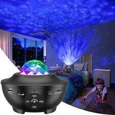 Galaxy Projector, Star Projector 3 in 1 Night Light Projector w/Led Nebula Cloud