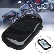 Cell Phone GPS Case Holder Motorcycle Magnetic Gas Tank Holder Mount Fit Harley