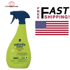 Nature's Care 24 oz Insecticidal Soap Garden Plants Pest Control Killer Spray