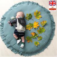 Round Baby Playmat Nursery Rug Crawling Mat Rugs Creeping Kids Room Decorative