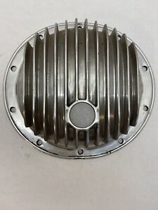E-T Finned Aluminum GM chevy 10 bolt rear end cover Hot Rod 32 Ford Drag Race