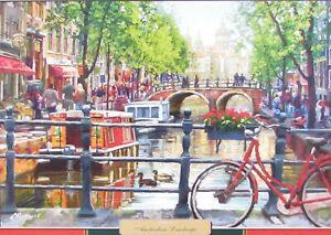 Castorland Amsterdam Landscape 1000 pc Jigsaw Puzzle Canals