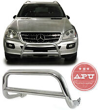 APU 1998-2005 Mercedes ML W163 Stainless Bull Bar Bumper Brush Guard