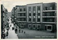 Cartolina di Siracusa, strada affollata - 1943
