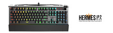Gamdias Hermes P2 RGB Optical Mechanical Professional Gaming Keyboard USB US
