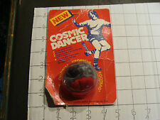 Vintage MOC hacky sack: COSMIC DANCER red silver calf. sports spec  SCARCE ITEM