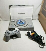 Sony PlayStation 1 SCPH-9001 PS1 Console W/ Controller 1 Game & Manual. Works
