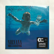NIRVANA - NEVERMIND * LP VINYL* MINT * FREE P&P UK * BACK TO BLACK + MP3 180GRAM