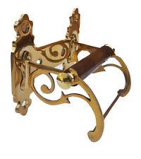 Traditional Vintage Design Victorian Toilet Roll / Toilet  Paper Holder Brass
