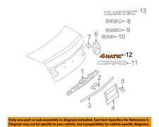 MERCEDES OEM 10-14 E350 Trunk Lid-Emblem Badge Nameplate 2208171015