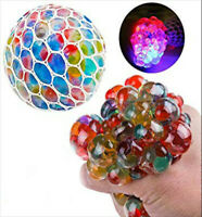 1 Squishy bead filled squeeze stress ball kids autism fidget