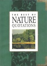 New, Best of Nature Quotations, , Book