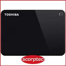 Toshiba Canvio Advance 4TB USB 3.0 Portable HDD - Black