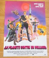 LA PLANETE CONTRE UN MILLIARD Affiche cinéma 40x60 BARRY SHEAR, ROBINETTE, SPECH