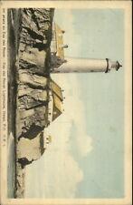 Gaspe Quebec Cap Des Rosier Lighthouse Postcard