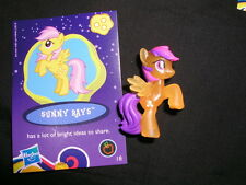 my little pony neon bright  mini blind bag  Sunny Rays  NEW/Loose