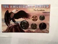 THE AMERICAN SERIES THE PRESIDENTS SET OF 5 UNCIRCULATED COINS SEALED