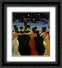 Waltzers 2x Matted 20x24 Black Ornate Framed Art Print by Jack Vettriano