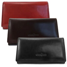 Gianni Conti Large Leather  Matinee Purse - Style: 9408021- 3 Colour Ways