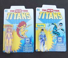 Dc Legion Of Collectors Teen Titans Nightwing Starfire Action Figures lot