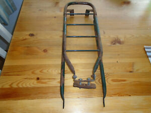 "Vintage bicycle 1958 rear pannier rack luggage rack for 26"" wheels"