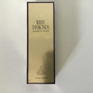 Elizabeth Taylor White Diamonds Eau de Toilette 100mL Unopened #404